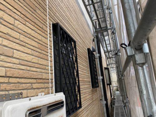 岐阜県岐阜市O様邸 外壁西面施工前写真