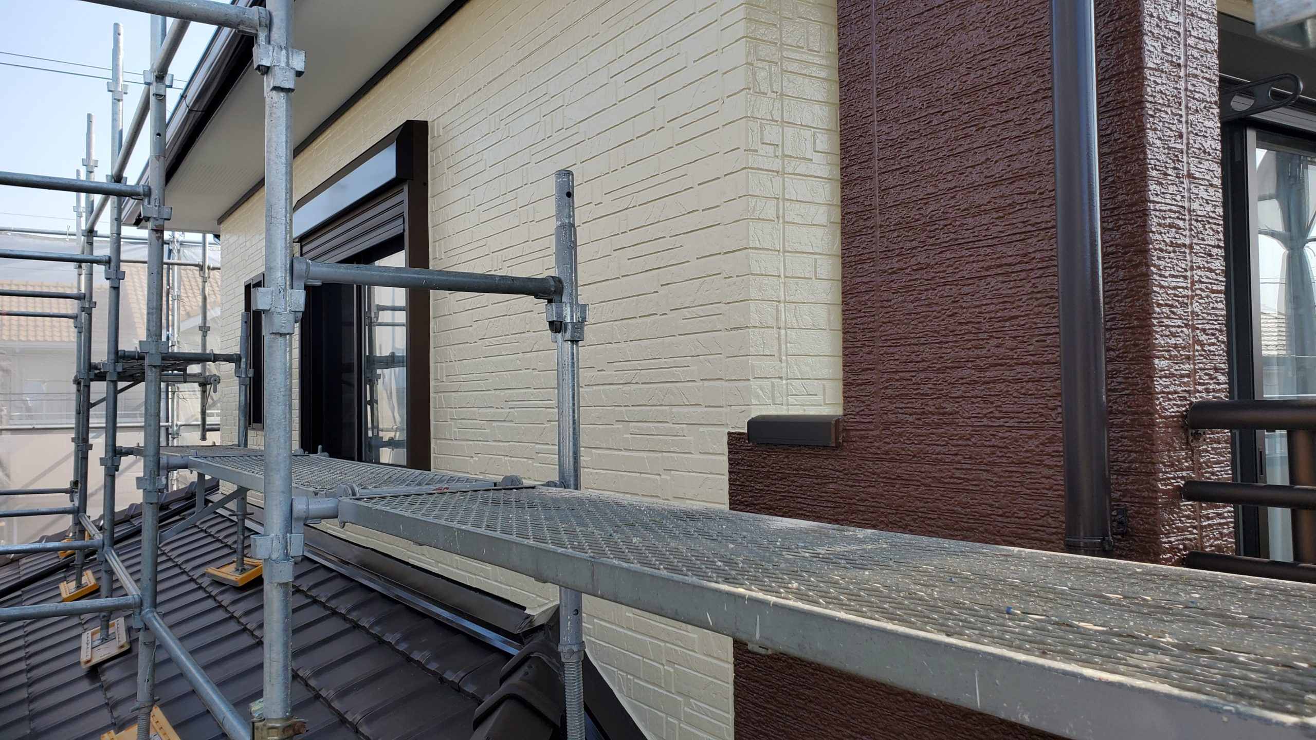 岐阜県瑞穂市 K様邸 2階西面施工完了写真