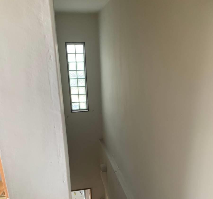 内部階段室施工前