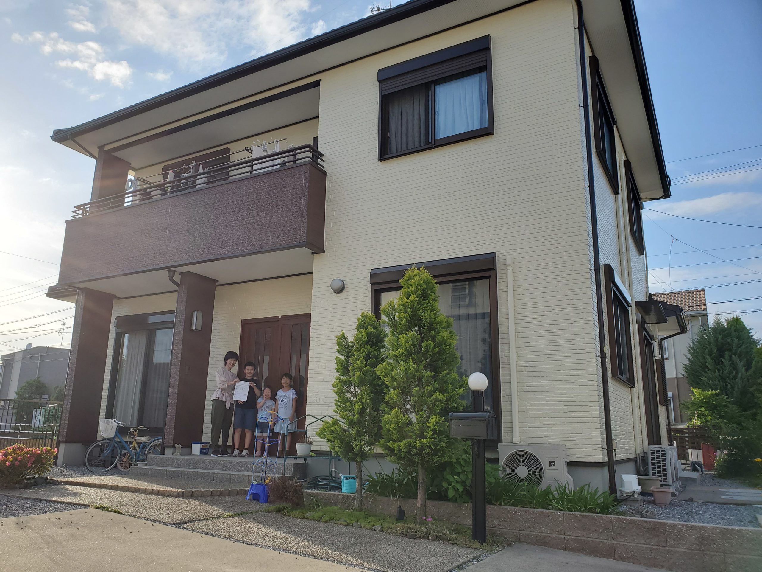 岐阜県瑞穂市 K様邸 アンケート調査写真