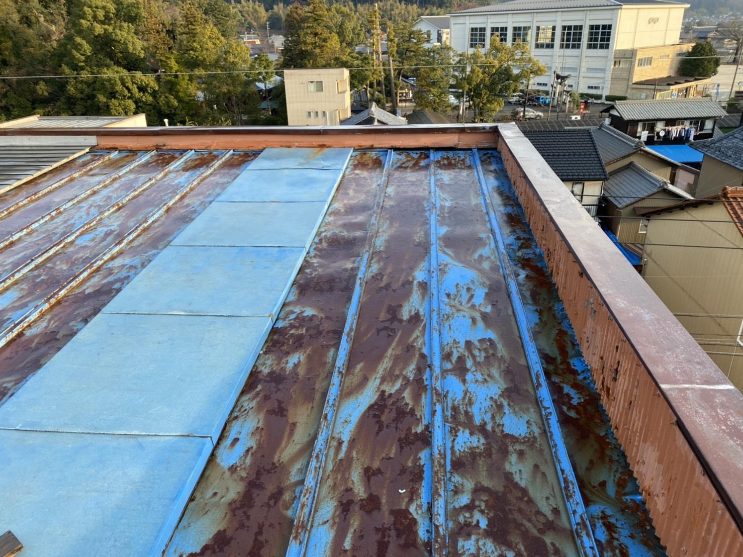 屋根板金 施工前写真