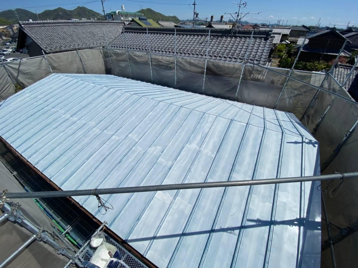 屋根サビ止め完了写真