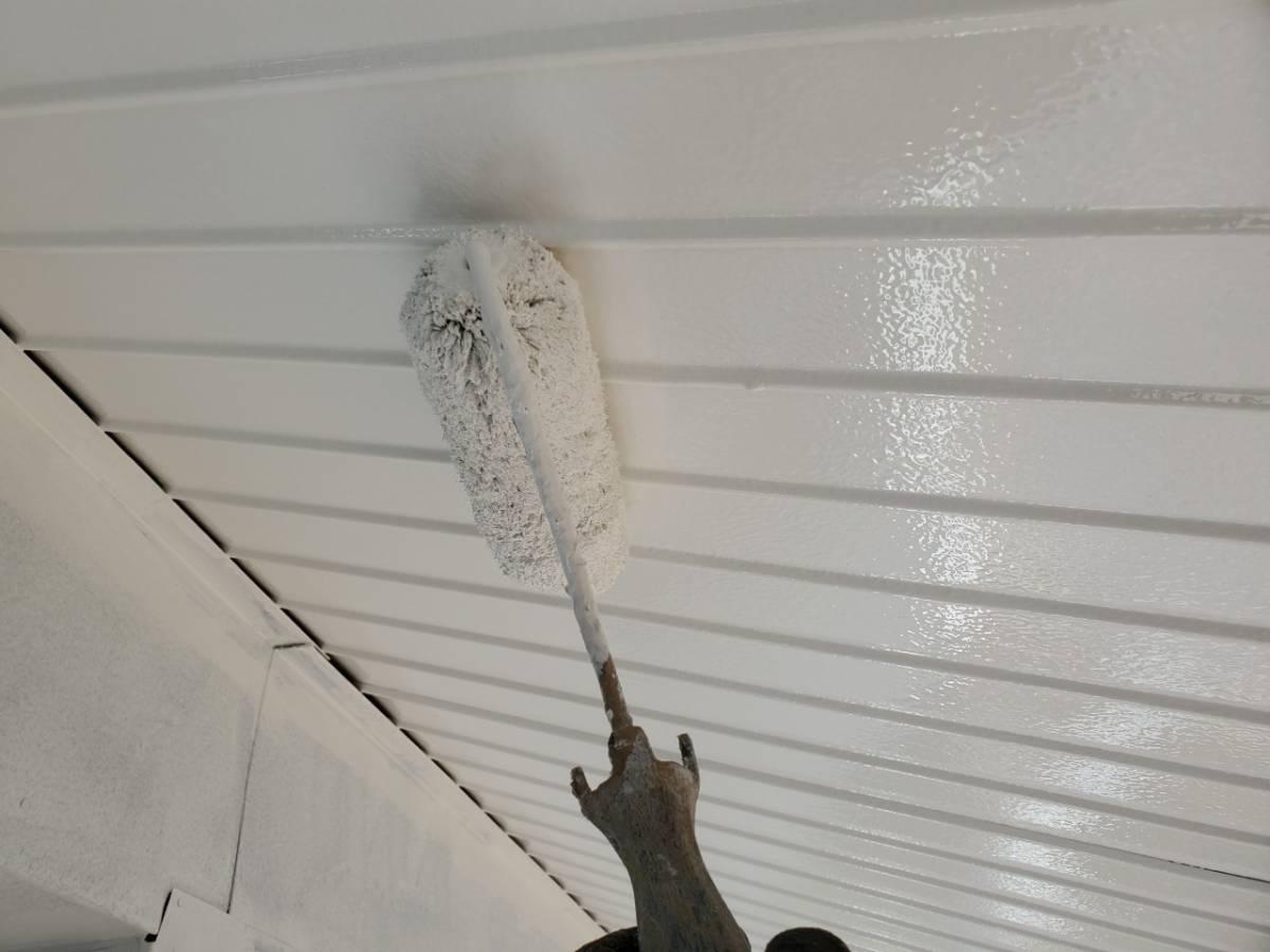 軒天トップ塗装