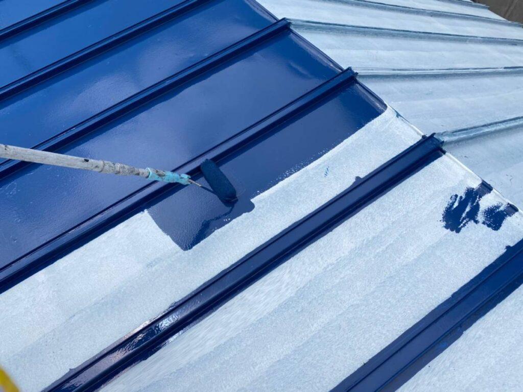 屋根トップ塗装