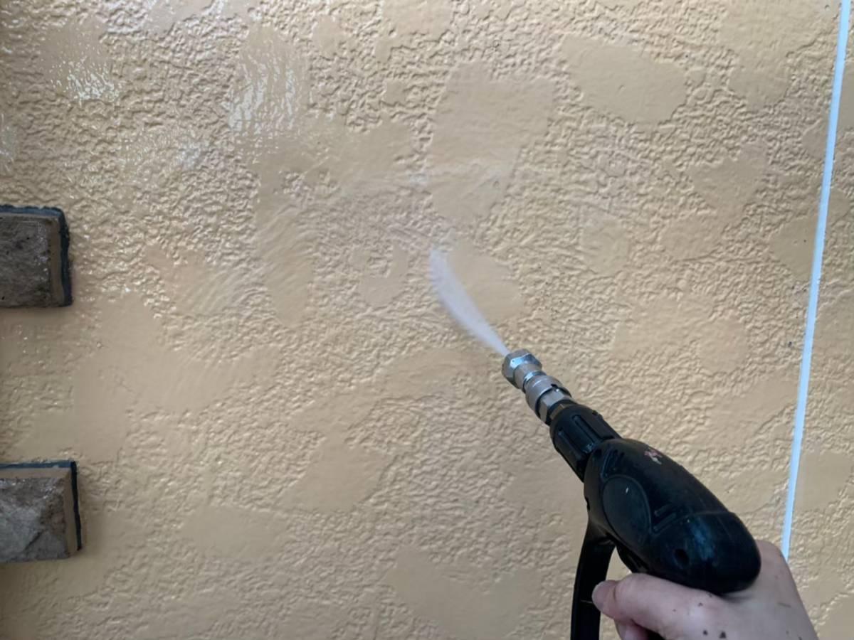 外壁高圧洗浄 施工写真