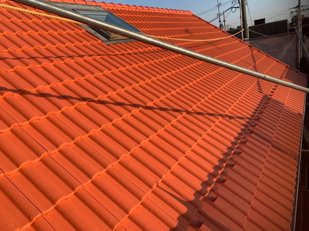 施工後 屋根写真