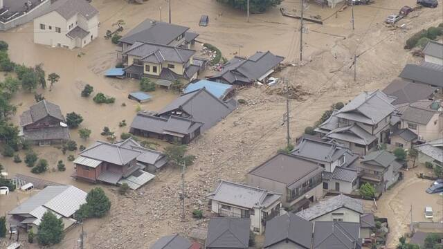 水災 画像