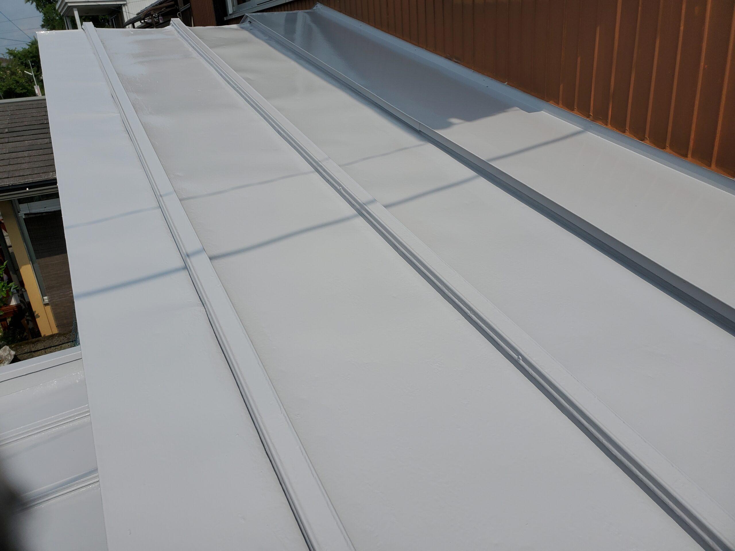 屋根板金 施工完了写真