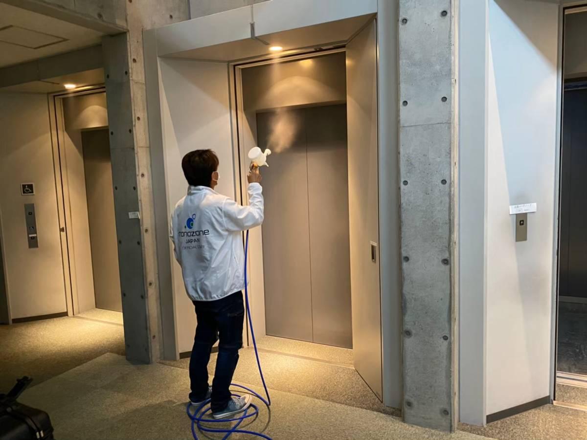 エレベーター施工写真