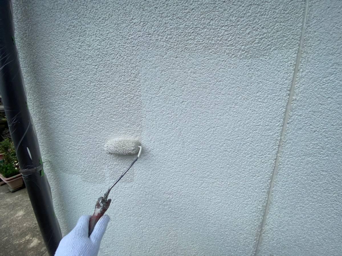 玄関周り 外壁塗装施工写真