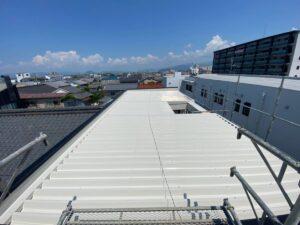 屋根施工完了写真