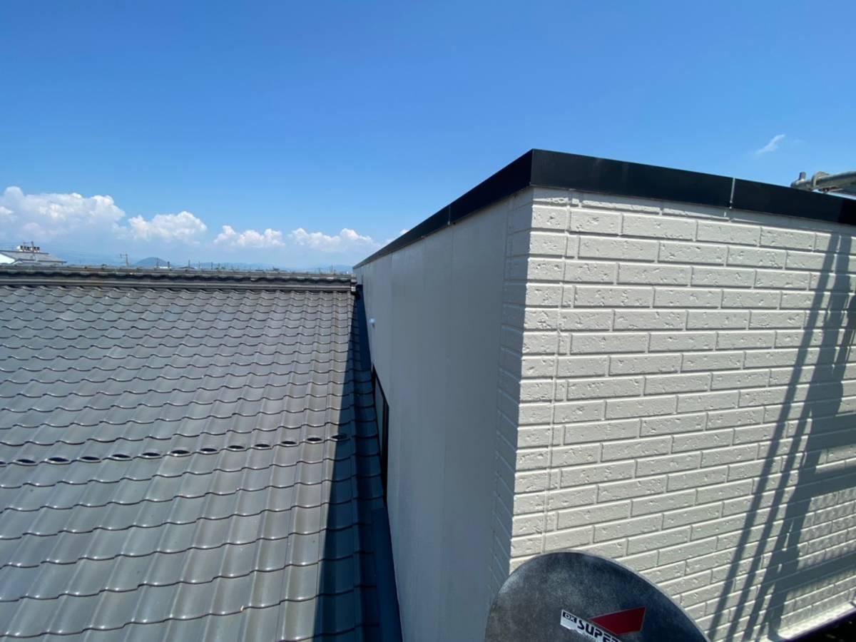 外壁施工完了写真